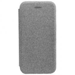 COMMANDER Tasche CURVE Book für Huawei P Smart 2019 Elegant Grau