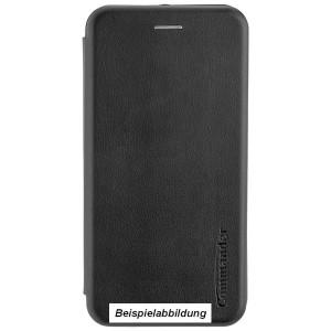 COMMANDER Book Case / Tasche CURVE für Huawei Y7 2019 Schwarz