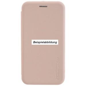 COMMANDER Book Case / Tasche CURVE für Xiaomi Mi 8 Lite Creme Rose