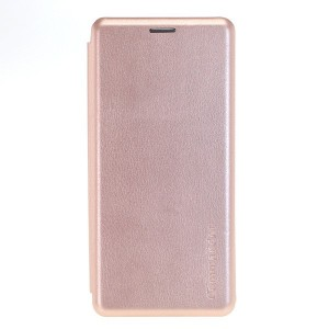 COMMANDER Book Case / Tasche CURVE für Samsung Galaxy A50 Rose Gold