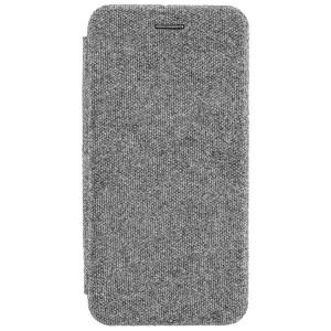 COMMANDER Book Case / Tasche CURVE für Huawei Y6 2019 Elegant Grau