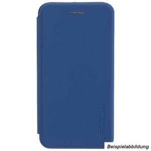 COMMANDER Book Case / Tasche CURVE für Huawei Y6 2019 Blau