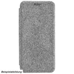 COMMANDER Book Case / Tasche CURVE für Samsung Galaxy A20e Elegant Grau