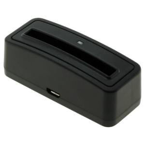 Akkuladestation für Akku Samsung EB-F1A2GBU - schwarz