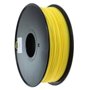 PLA Filament für 3D Drucker 1kg Rolle / 1,75mm Durchmesser gelb