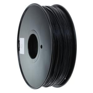 PLA Filament für 3D Drucker - 1kg Rolle / 1,75mm Durchmesser - schwarz