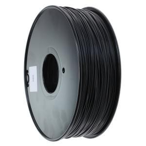 ABS Filament für 3D Drucker - 1kg Rolle / 1,75mm Durchmesser - schwarz