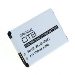 Akku / Ersatzakku BL-49JH für LG K4 Li-Ion