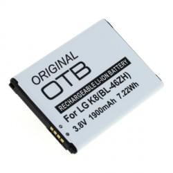 Akku BL-46ZH für LG K8 K350N / K7 X210 1900mAh Li-Ion