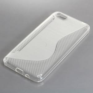 TPU Silikon Case / Schutzhülle für Huawei Y5 (2018) S-Curve transparent