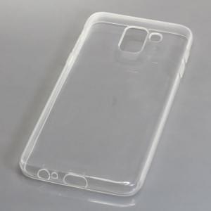 Silikon Case / Schutzhülle für Samsung Galaxy J6 ( 2018 ) voll transparent