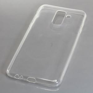 Silikon Case / Schutzhülle für Samsung Galaxy J8 ( 2018 ) voll transparent