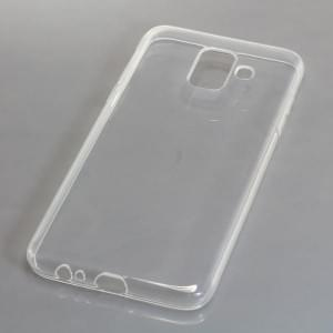 Silikon Case / Schutzhülle für Samsung Galaxy A6 ( 2018 ) voll transparent