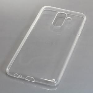 Silikon Case / Schutzhülle für Samsung Galaxy A6+ / A6 Plus ( 2018 ) voll transparent