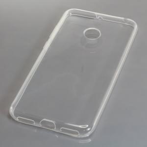 Silikon Case / Schutzhülle für Huawei Y6 ( 2018 ) voll transparent