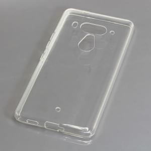 TPU Silikon Case / Schutzhülle für HTC U12 Plus / U12+ voll transparent