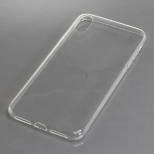 Silikon Crystal Case Ultra Transparente Schutzhülle für iPhone XR voll transparent