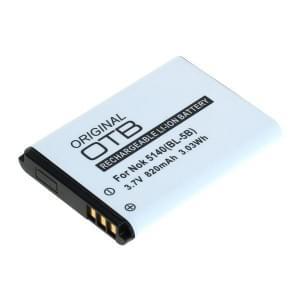 Ersatzakku BL-5B für Nokia N80 / 5140 / 6020 / 7260 / 5320 Li-Ion