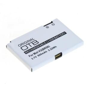 Ersatzakku BR50 für Motorola Razr V3 / V3i / Pebl / U6 / V6 600mAh