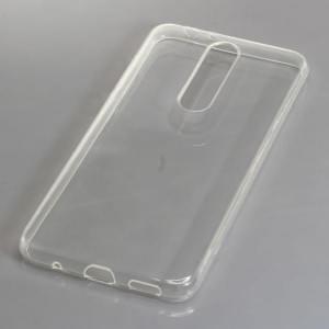 TPU Silikon Case / Schutzhülle für Nokia 5.1 Plus voll transparent