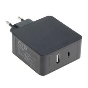Ladegerät / Ladeadapter Dual USB C + USB A mit USB Power Delivery USB-PD 30W