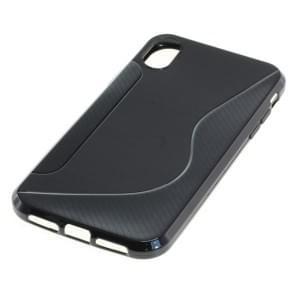 TPU Case Handyhülle für iPhone XR S-Curve schwarz