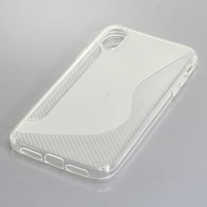 TPU Case Handyhülle für iPhone XR S-Curve transparent