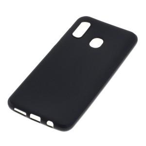 Schutzhülle / Handyhülle für Samsung Galaxy A30 schwarz