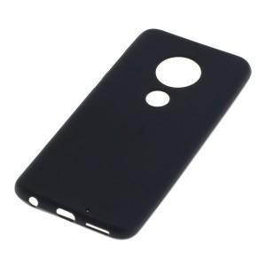 Schutzhülle / Handyhülle für Motorola G7 Plus schwarz