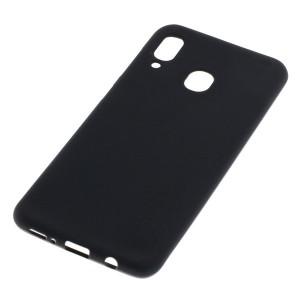 TPU Case / Handyhülle für Samsung Galaxy A20 schwarz