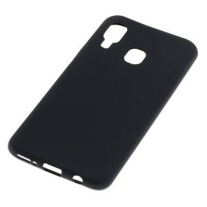 TPU Case / Handyhülle für Samsung Galaxy A40 schwarz