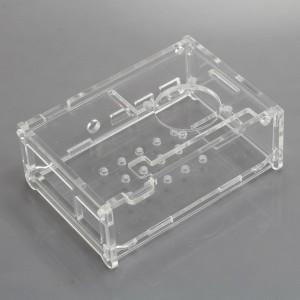 Gehäuse für Raspberry Pi 4 / IV Acryl transparent