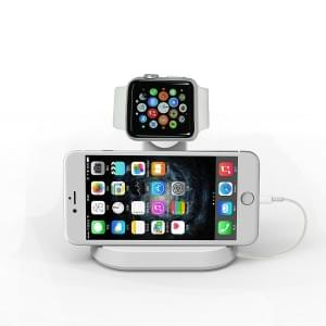 Uhr Stand Dual Tischladeständer für Apple Watch 38mm / 42mm