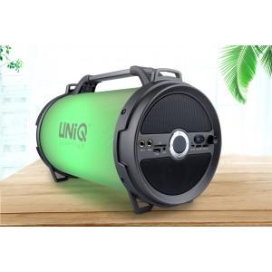 UNIQ Tune Bluetooth Lautsprecher LED Show Karaoke MP3 USB Radio AUX
