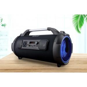 UNIQ Sing Bluetooth Lautsprecher Schwarz Karaoke MP3 USB Radio AUX