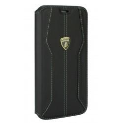 Lamborghini Ledertasche iPhone 11 Pro Schwarz