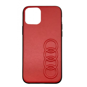 Audi Lederhülle / Cover iPhone 11 Pro Max TT Serie Rot