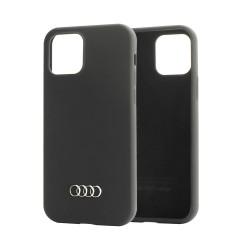 Audi iPhone 12 Pro Max 6,7 Silicone Cover / Case / Hülle Q3 schwarz