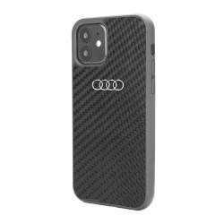 Audi iPhone 11 Pro Max Carbon Cover / Case / Hülle R8 Kollektion Schwarz