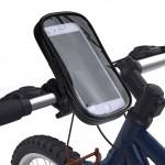 UNIQ Universal Fahrrad / Biker Halterung Set Tasche + Halter Smartphones bis 5.5 Zoll