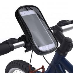 UNIQ Universal Fahrrad / Biker Halterung Set Tasche + Halter Smartphones bis 6.3 Zoll