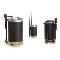 UNIQ Voice Bluetooth Lautsprecher Karaoke Schwarz USB AUX SD MP3