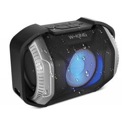 W-KING S8 Wasserdichter Outdoor Bluetooth Lautsprecher Silber