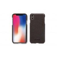 Pierre Cardin Case / Hülle für iPhone Xs Max Schwarz Echtleder
