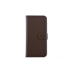 Book Case / Tasche für Samsung Galaxy S10 Braun
