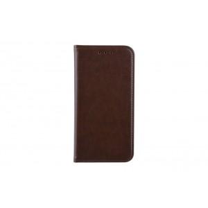 Premium Handytasche / Book Case für Samsung Galaxy S10e Braun