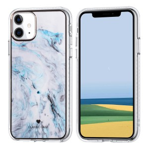 iPhone 11 Classic Case Hülle Cover Gradient Blau
