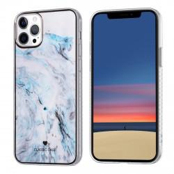 iPhone 12 / 12 Pro Classic Case Hülle Cover Gradient Blau