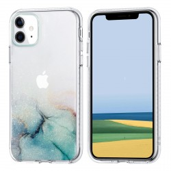 iPhone 11 Case Hülle Cover Gradient Print Transparent 672