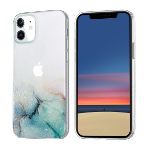 iPhone 12 Mini Case Hülle Cover Gradient Print Transparent 678